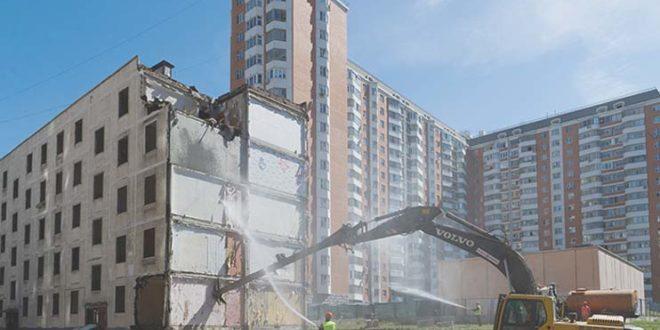 снос пятиэтажек в Москве 2017 года