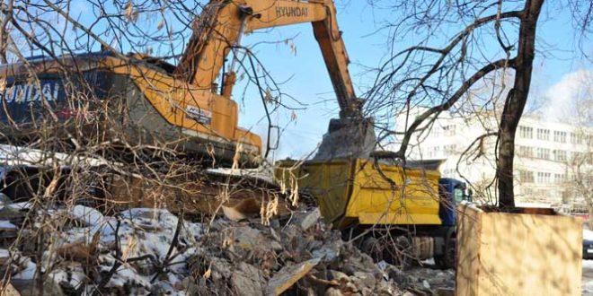 новости о сносе зданий в Москве и области