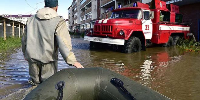 паводок в России