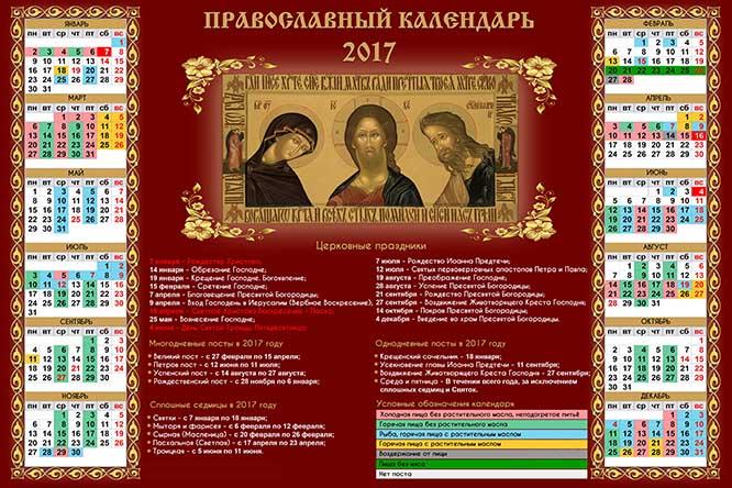 Календарь православных имен на май