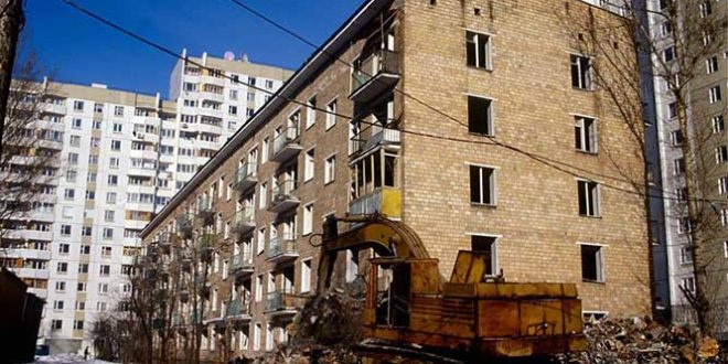 мер Москвы про снос пятиэтажек