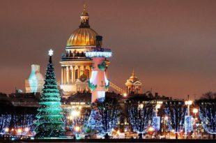 новогодний Санкт-Петербург 2018