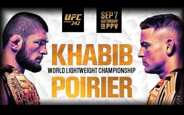 Смотреть прямую онлайн трансляцию UFC 242 Нурмагомедов ...